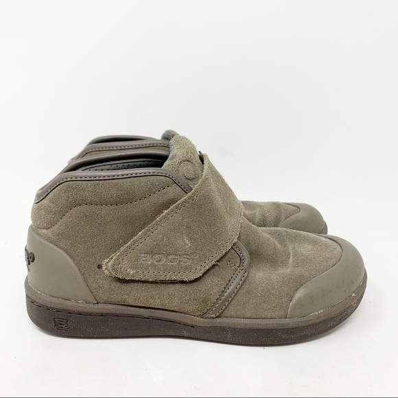 Bogs Sammy Waterproof Suede Sneaker